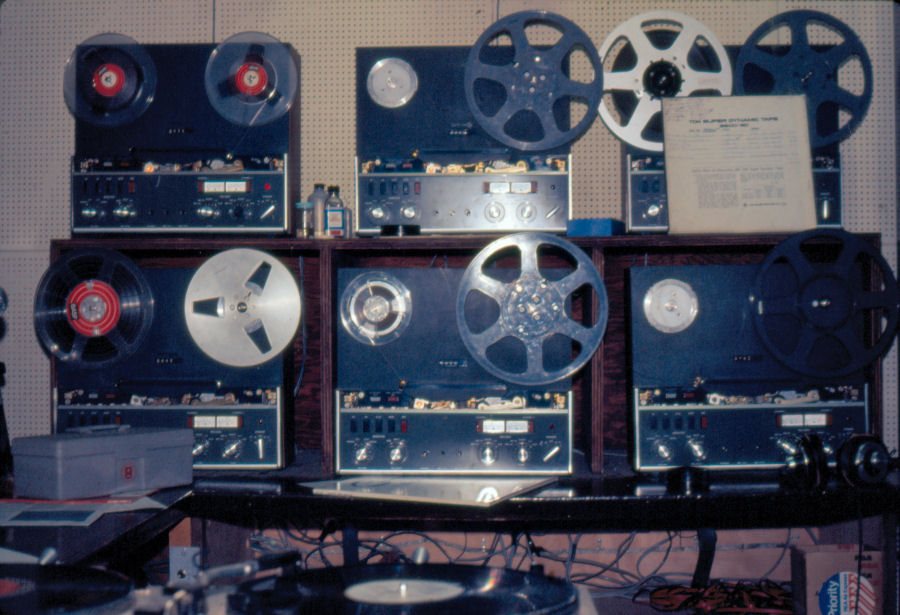 KDFC Revox A77 Reel to Reel Tape Machines