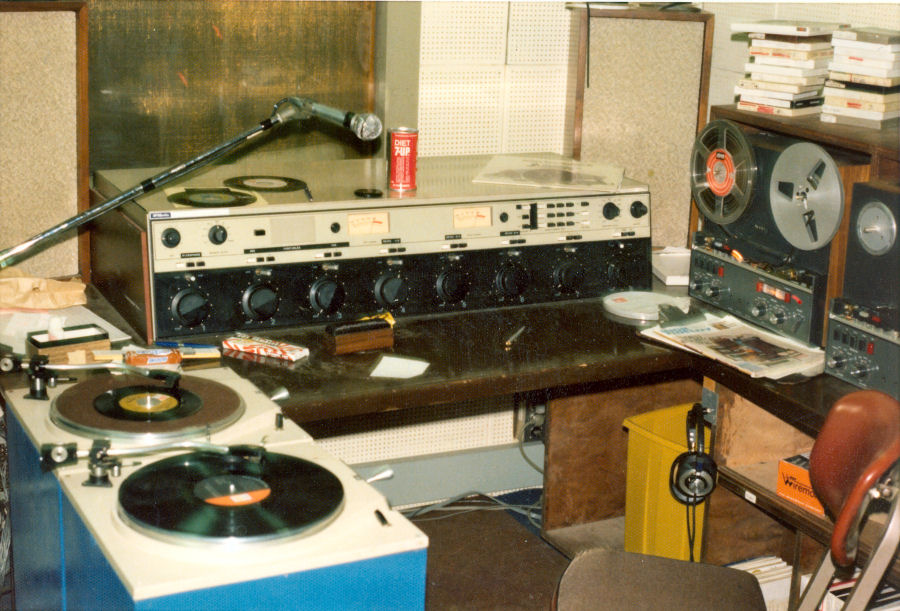 KDFC FM Air Studiowith McMartin B802 Console and QRK Turntables