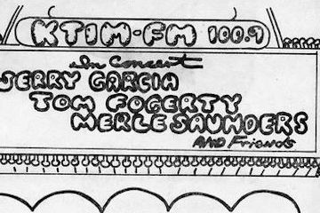 KTIM AM&FM, KTIM FM, Lions Share Broadcast with Jerry Garcia Circa 1973