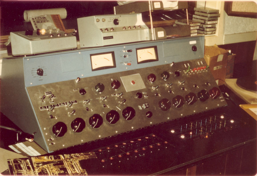 KYA San Francisco Production Room with a RCA BC7A Audio Console Circa 1972